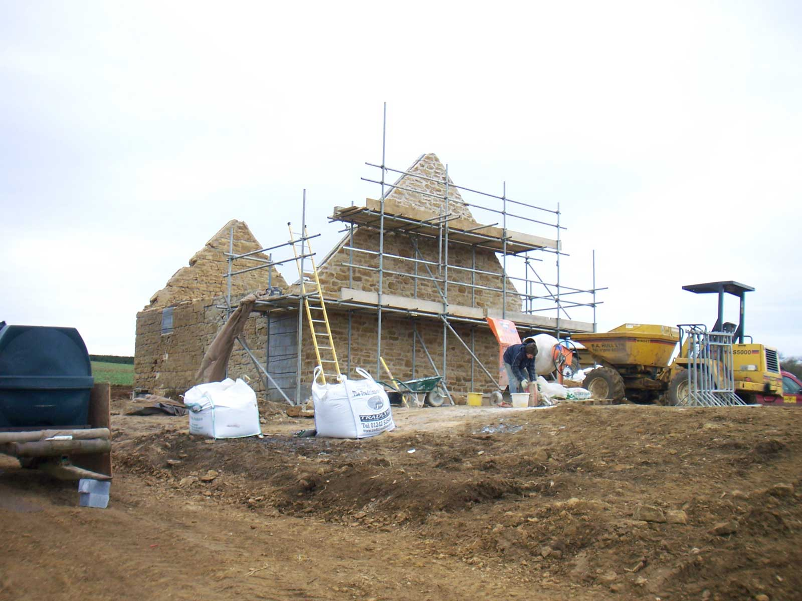 Underhill Grand Designs Paragraph 79 house - build progress