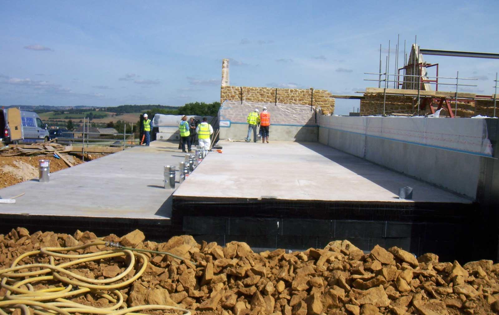 Underhill Grand Designs Paragraph 79 house - build progress